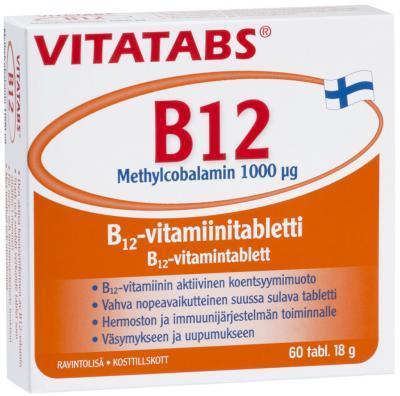VITATABS B12  1000 MCG TBL N60