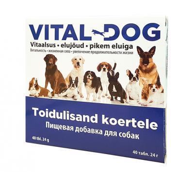 VITAL-DOG VITAMIINID KOERTELE TAB N40