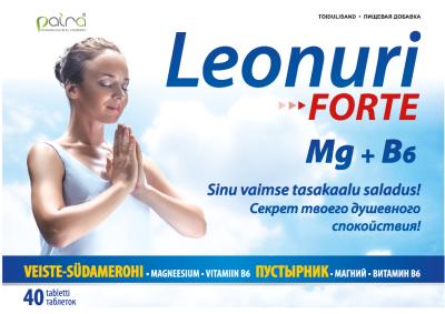 PAIRA LEONURI FORTE + MG+VIT B6 TBL N40