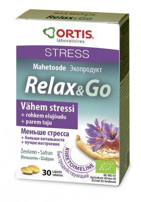 RELAX & GO STRESSIVASTASED TABL  N30