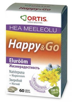 HAPPY & GO NAISTEPUNA TABL N60