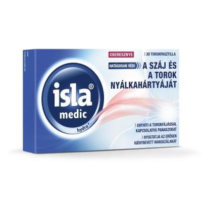 ISLA-MEDIC HYDRO+ PASTILLID KIRSS N20