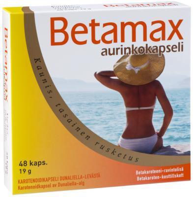 BETAMAX PÄIKESEKAPSLID N48