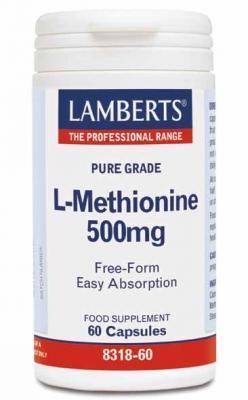 LAMBERTS L-METHIONINE 500MG TAB N60
