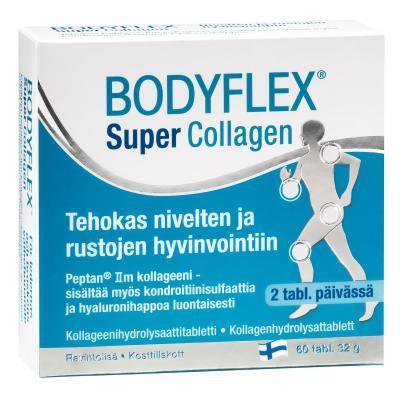 BODYFLEX SUPER-KOLLAGEENI TABLETID LIIGESTELE N60