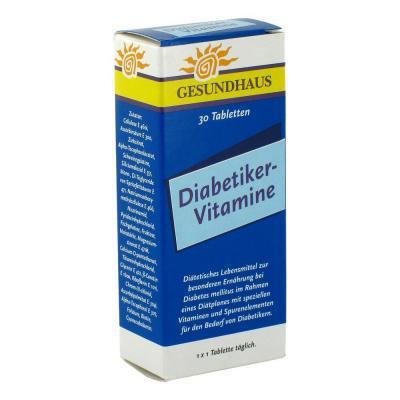 DIABETIKER VITAMIINID TBL N30
