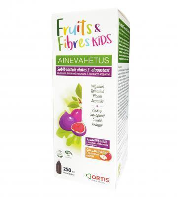 TEHOLAXA FRUITS&FIBRES SIIRUP LASTELE 250 ml