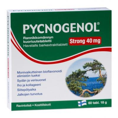 PYCNOGENOL STRONG TBL 40MG N60