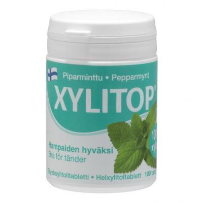 XYLITOP PIPARMÜNT TBL N100
