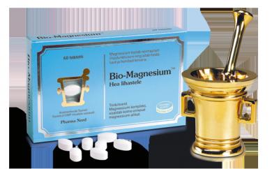 BIO-MAGNESIUM  MAGNEESIUMI TAB N60