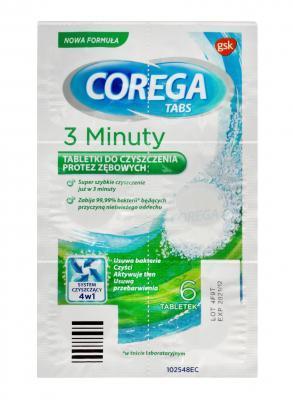 COREGA TABS 3 MINUTIT TBL  N6