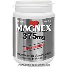 MAGNEX 375MG+B6 TBL N180