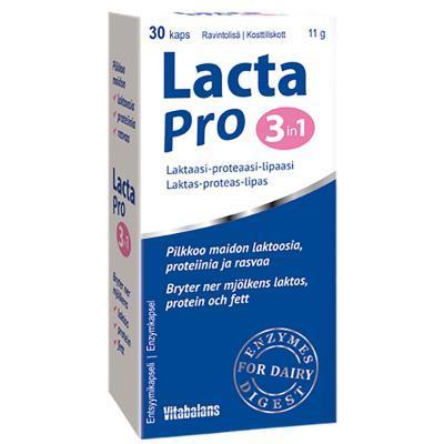 LACTAPRO 3 IN1 KAPS N30