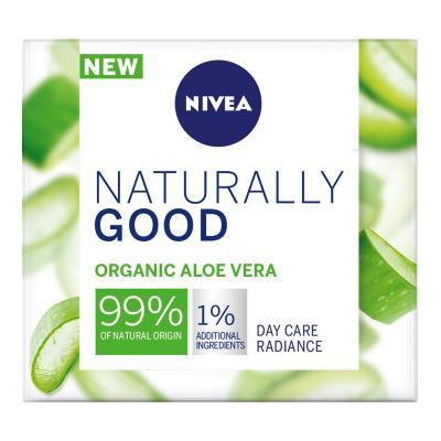 NIVEA NATURALLY GOOD PÄEVAKREEM 50ML