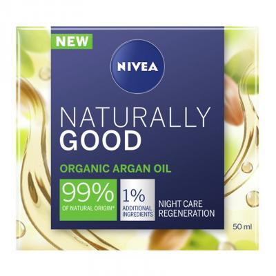 NIVEA NATURALLY GOOD ÖÖKREEM 50ML