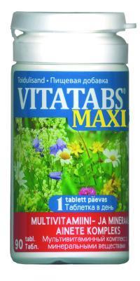 VITATABS MAXI  (VITAMAX)  MULTIVITAMIINI TAB N90