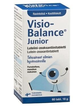 VISIOBALANCE JUNIOR TABLETID LASTE  SILMADELE   N60
