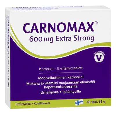 CARNOMAX EXTRA STRONG 600 MG TBL N60